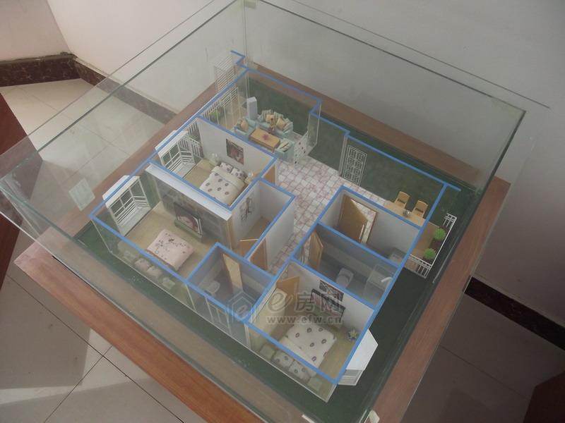 宏润阳光城 户型模型